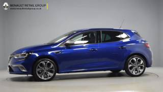 Renault Megane Gt Line Iron Blue Library