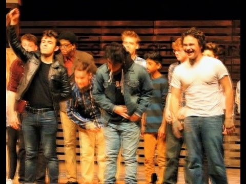 Theater South's production of The Outsiders