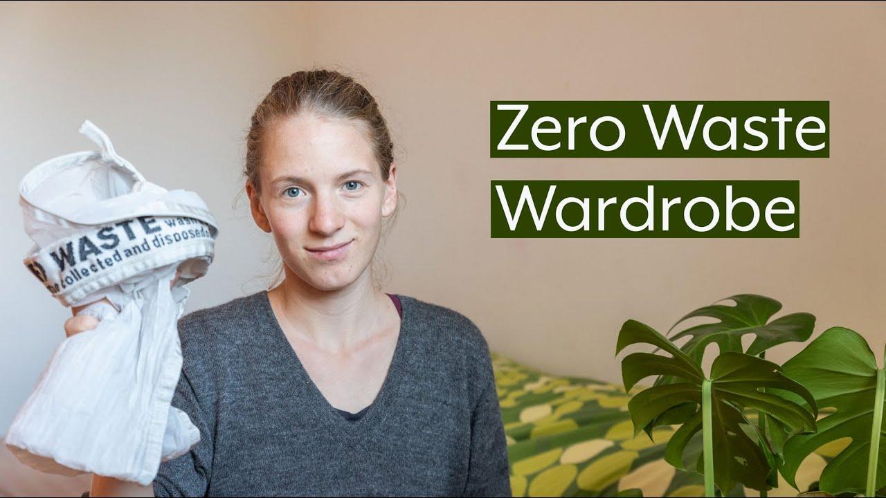 Tipps For A Sustainable Zero Waste Wardrobe Youtube