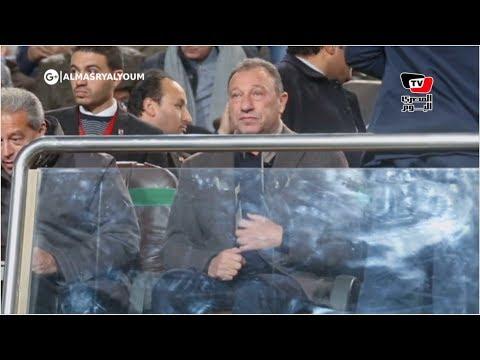 «الخطيب ومرتجي والدرندلي» بمقصورة بتروسبورت لمتابعة مباراة الأهلي والإنتاج  - نشر قبل 22 ساعة