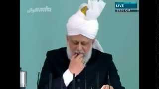 Le respect des conditions du serment d'allégeance - Sermon du 23 mars 2012
