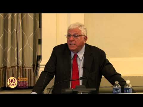 """Public Responsibility and the Federal-State Disconnect"" with Richard Ravitch"
