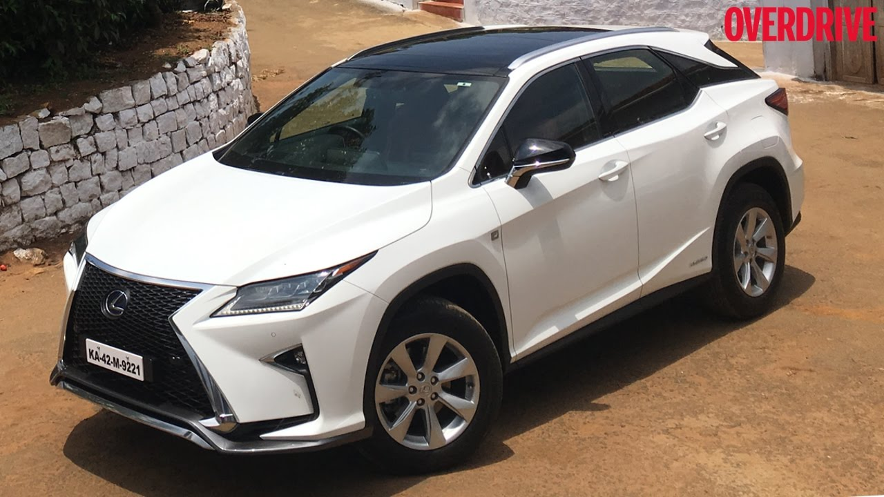 Lexus Rx450h First Drive Review India