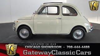 1971 Fiat 500 L Gateway Classic Cars Chicago #1084