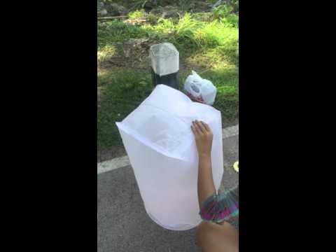 Comment faire des lanternes volantes doovi - Fabriquer des lanternes volantes ...