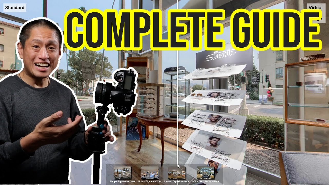 Virtual tours with a DSLR camera
