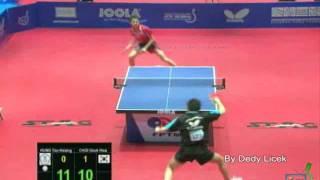Hung Tzu-Hsiang vs Choi Dek Hwa - 2011 ITTF Global Cadet Challenge & Global Junior Circuit Finals