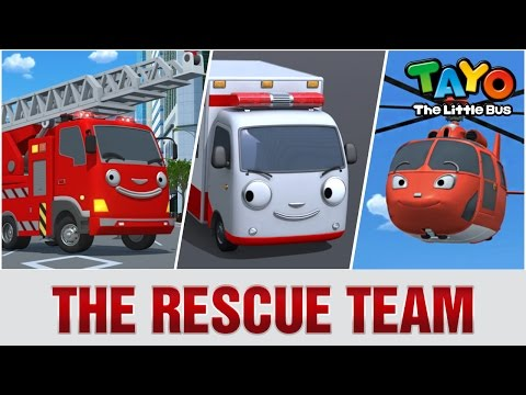 Thumbnail: The Rescue Team l Meet Tayo's Friends #2 l Tayo the Little Bus