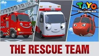 Video The Rescue Team l Meet Tayo's Friends #2 l Tayo the Little Bus download MP3, 3GP, MP4, WEBM, AVI, FLV November 2019