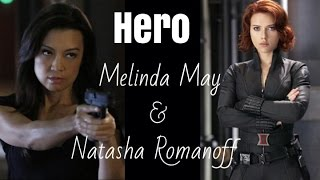 Natasha Romanoff | The Black Widow and Melinda May | The Calvary