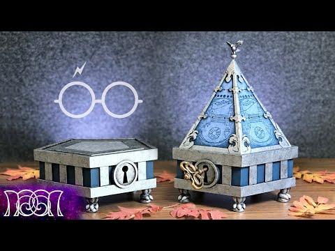 Precious Portkey Portmanteau - DIY - Harry Potter Wizards Unite