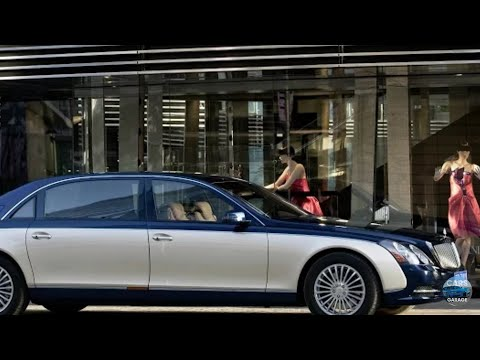 Maybach 62 interior exterior drive review most expensive maybach limited edition car