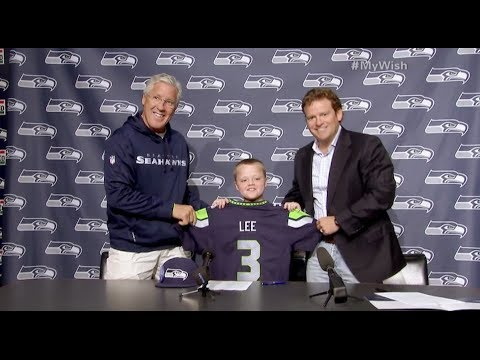 My Wish: Kevin Joins the Seattle Seahawks