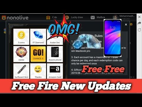 HOW TO USE GIFT CODE TO GET FREE DIAMONDS FREE FIRE NEW NONO
