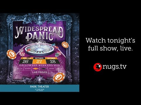Widespread Panic Live from Las Vegas, NV 10/28/18 Set II Opener