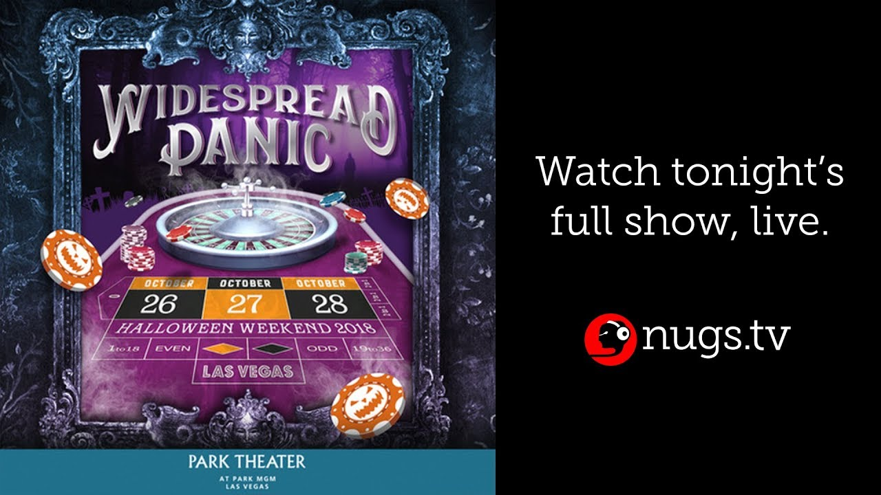 Aqualung Widespread Panic Halloween 2020 Widespread Panic Live from Las Vegas, NV 10/28/18 Aqualung   YouTube