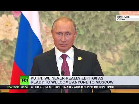 Putin on Trump's call to have Russia back with G7: We never left