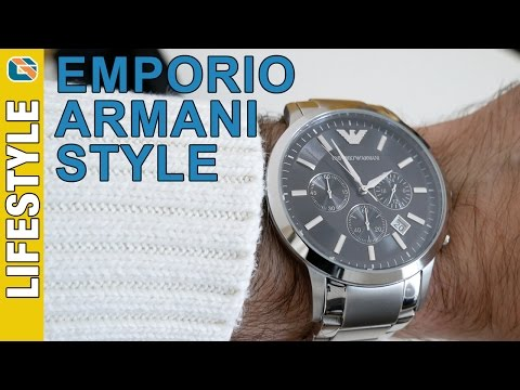 d6b4f7e0b9 Emporio Armani Renato AR2434 Mens Chronograph Watch Review - Watches ...