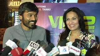 Dhanush & Wife Soundarya's FIRST Interview Together In Public At VIP 2 Movie Promotions