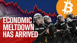 Global Economic Meltdown! Shift From Fiat to Bitcoin Has Begun!!