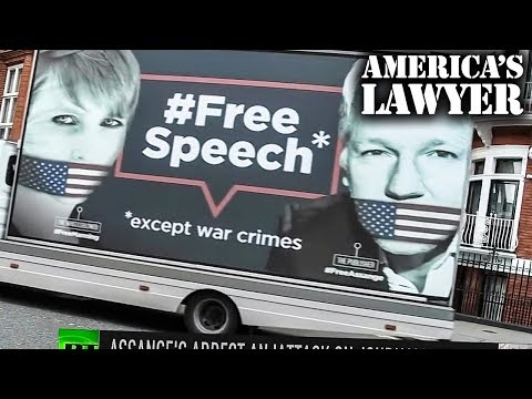 Charges Against Assange Could Destroy Free Speech & Journalism; Media Moron's Cheer It On