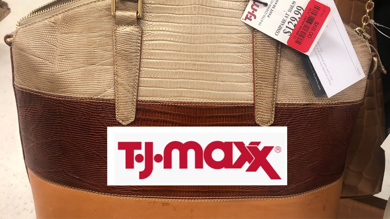 TJ Maxx NEW LOCATION and STOCK! CLEARANCE on BRAHMIN BAGS!