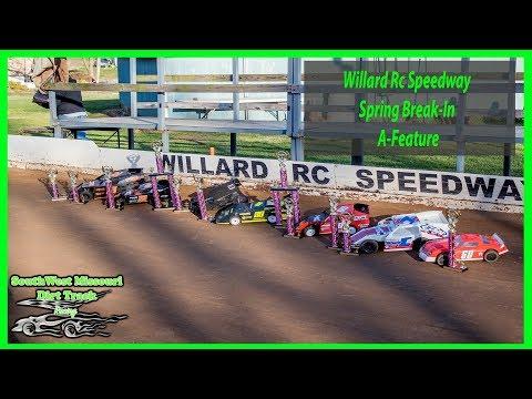 Willard Rc Speedway  A MAIN 4-07-2018 RC Car Racing