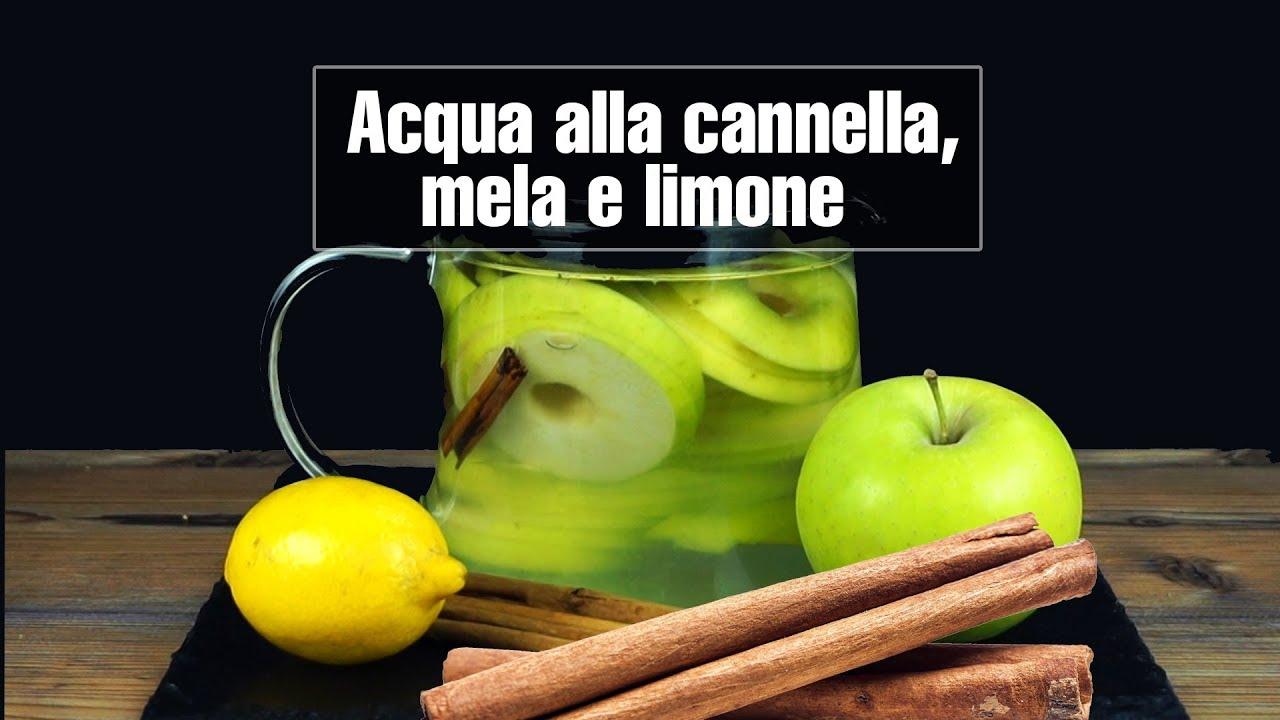 acqua di mela e cannella per dimagrire