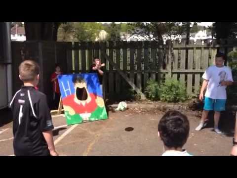 Sam Warburton Throwing