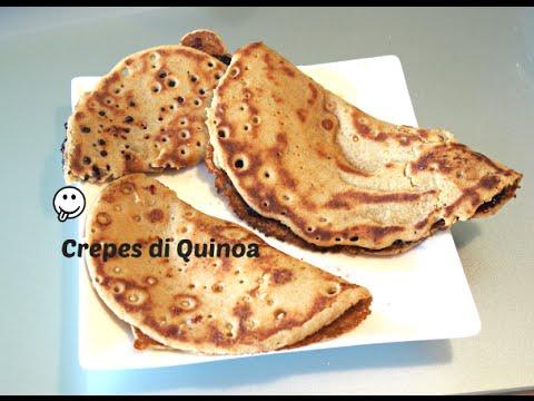 Ricetta Crepes Farina Di Quinoa.Crepes Di Quinoa Vegane Vegan Quinoa Crepes Gluten Free Youtube