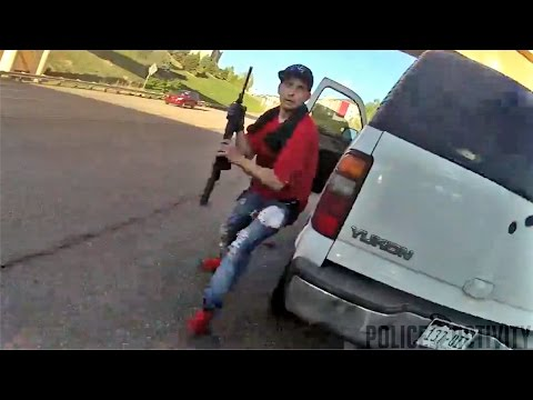Bodycam Footage Shows Deputy Shooting Suspect Armed With Rifle