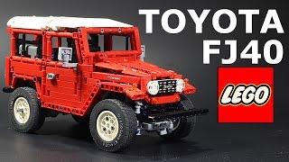 LEGO Toyota LC FJ 40 Hard Top (с русскими титрами)(This model was built from LEGO Technic. Модель построена из конструктора LEGO Technic. This is not a set, but own creation. Модель не явлется готов..., 2014-12-11T12:06:57.000Z)