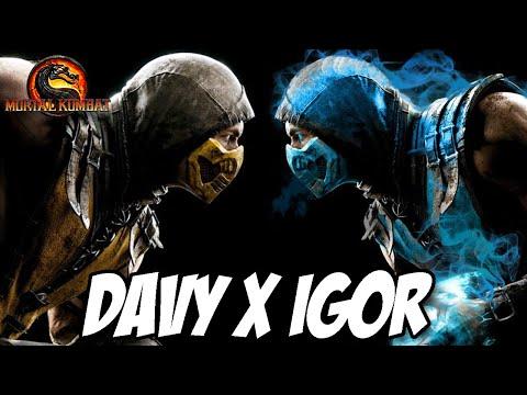 Mortal Kombat 9 - DAVY X IGOR A BATALHA ÉPICA