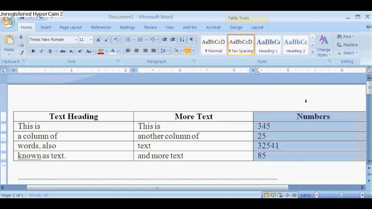 how to add table column on word youtube