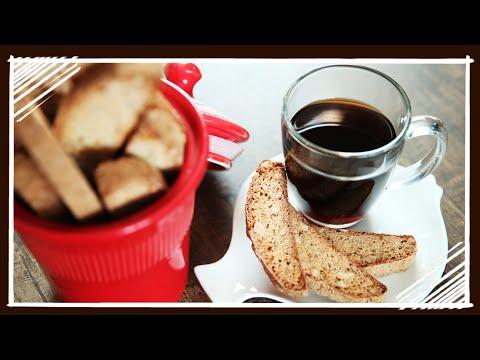 Italian Breakfast - How to make Biscotti - Nick Saraf's Foodlog