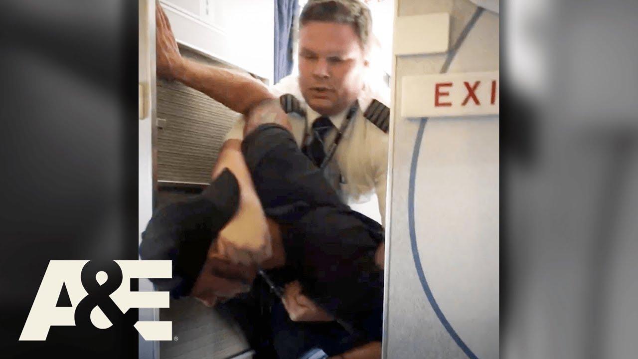 Hero Pilot TACKLES Man That Assaulted Flight Attendant | Fasten Your Seatbelt | A&E