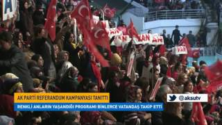Ak Parti'nin Referandum Kampanyası Tanıttı