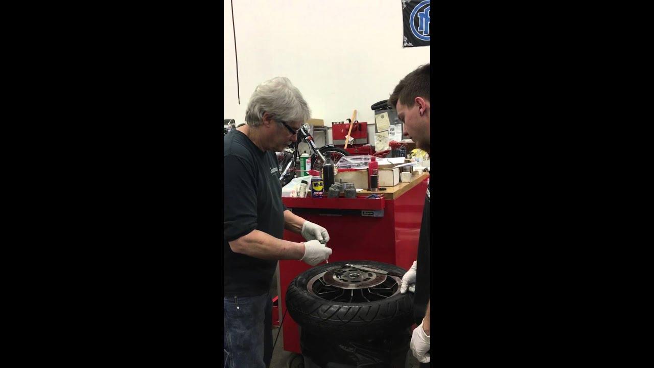 Harley Davidson Wheel bearings installation