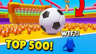 TOP 500 FUNNIEST FAILS IN FALL GUYS