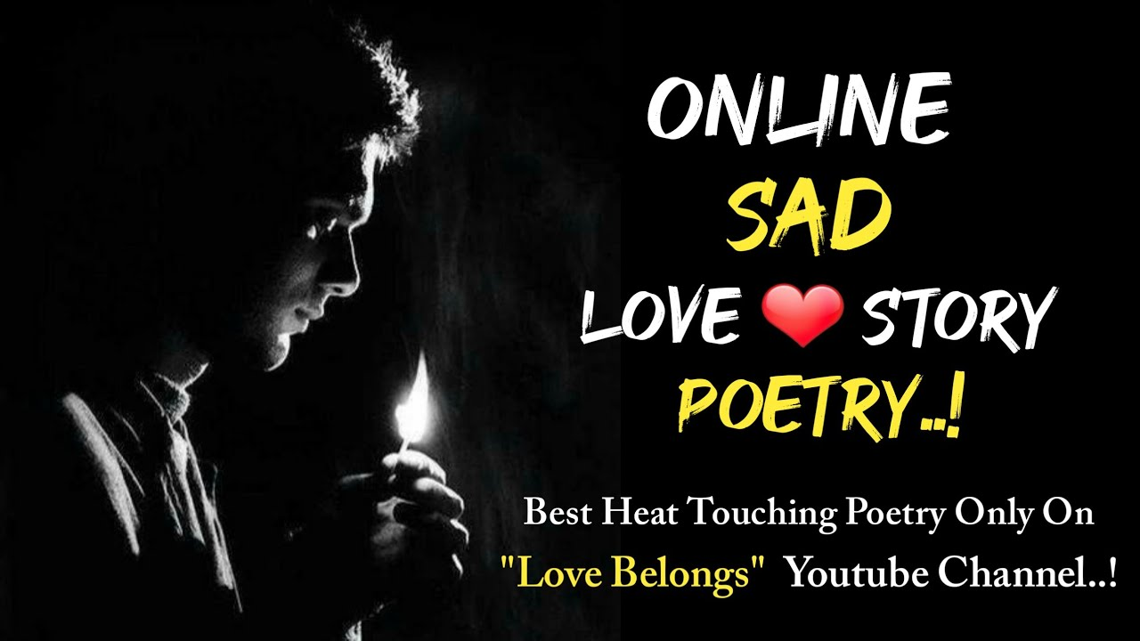 Sad Online Love Story | Heart Touching Poetry | Presented By Ziyan Sheikh