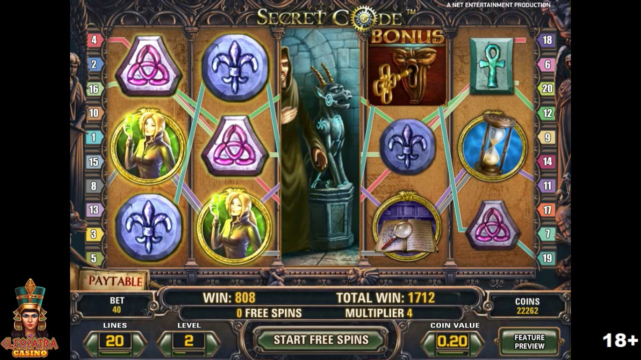 Spiele Secret Code Slots - Video Slots Online