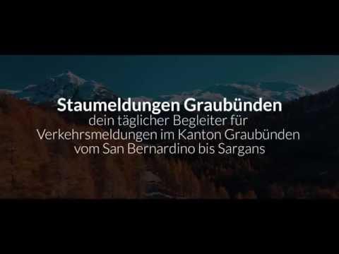 Staumeldungen Graubünden stellt