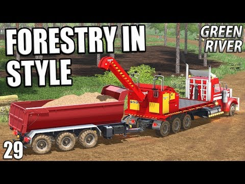 FORESTRY IN STYLE | Farming Simulator 17 | GreenRiver - Episode 29