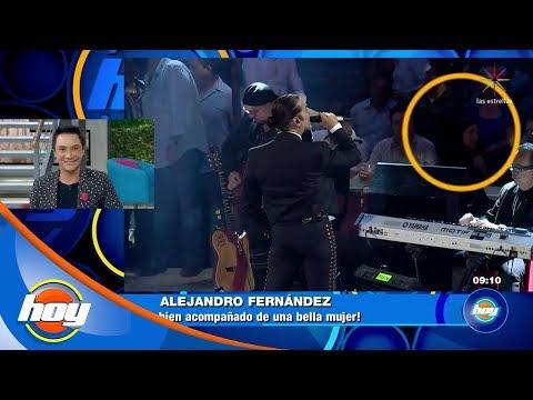 Alejandro Fernández, ¿con nueva pareja? | Hoy