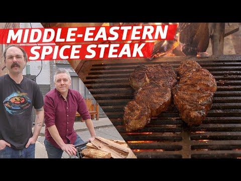 How to Cook Dry Rub Steaks Over a Huge Open Fire — Prime Time