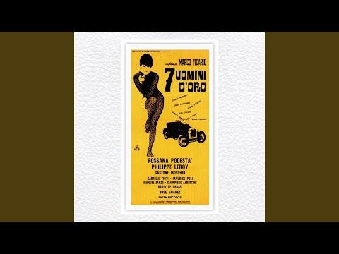 Armando Trovaioli Seven Golden Men An Original Motion Picture Soundtrack