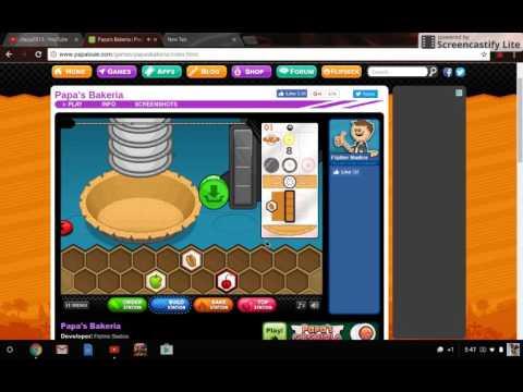 Papa Bakeria Part 1 GAME STORE Closed : (