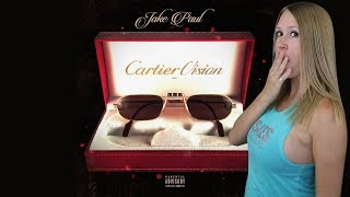 "Jake Paul - ""CARTIER VISION"" (Official Music Video) ft. AT3 + Jitt & Quan | My Reaction"