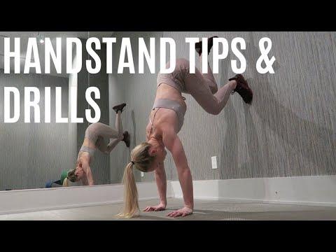 HANDSTAND TIPS &