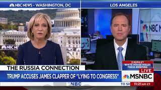 Rep. Schiff Discusses Trump Dossier on MSNBC